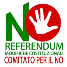 REFERENDUM MODIFICHE COSTITUZIONALI LOGO COMITATO NO