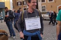 presidio a Montecitorio 12 aprile 2016 difesa della Costituzione