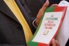Io difendo la Costituzione presidio 12 aprile 2016 Montecitorio contro la cancellazione del Senato